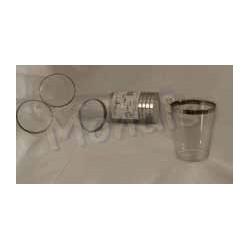 Vaso de agua de plástico rígido