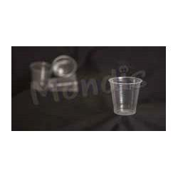 Vaso de plástico transparente 200 cc