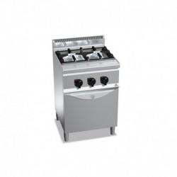 Cocina de 2 fuegos a gas + horno 1 - 3.5(Kw) . 1 - 7(Kw) Bertos