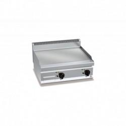 Plancha Fry-top de Acero Rectificado, Sobremesa Eléctrica 800x700x290 mm Bertos