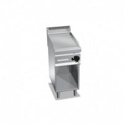 Plancha Fry-top de Acero Rectificado a Gas de 700x400x900 mm Bertos