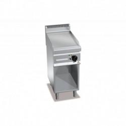 Fry-top de acero rectificado eléctrico con mueble Macros 700