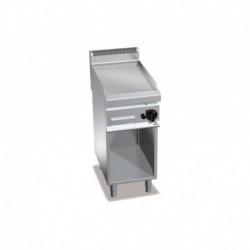 Plancha Fry-top de Cromo Duro, con Mueble a Gas de 400x700x900 mm Bertos