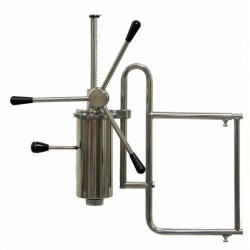 Dosificador de churros de papitas o porras manual,2kg de capacidad.-0450
