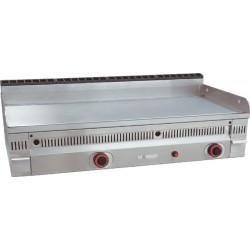 Plancha de Acero Rectificado, Sobremesa a Gas 600x600x390 mm Mainho