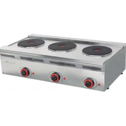 Cocina encimera eléctrica KW: 7.8 900x500x240 mm Mainho