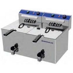 Freidora eléctrica FE-10+10MP Repagas