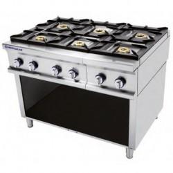 Cocina modular a gas 3 - 6.50(Kw) . 3 - 8(Kw) 1205x750x900 mm Repagas