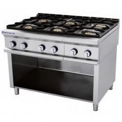 Cocina modular a gas Fuegos: 3 - 6.50(Kw) . 3 - 8(Kw) 1205x750x900 mm Repagas