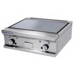 Plancha Fry-top de Acero Rectificado, Sobremesa a Gas de 800x750x280 mm Repagas