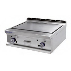 Plancha Fry-top de Hierro de 2 mm, Sobremesa a Gas 800x750x280 mm Repagas