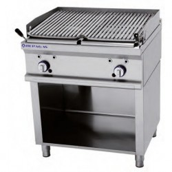 Barbacoa a gas 800x750x900 mm 23.00 kw REPAGAS