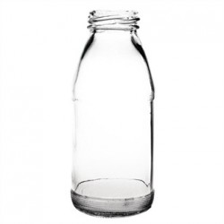 Botella para leche en miniatura