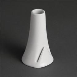 Jarrón con ranura 100x60 mm Color Blanco