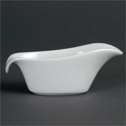 Salsera 85 ml / 140 mm Color Blanco