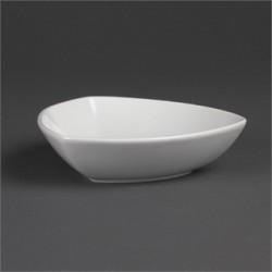 Cuenco triangular redondeado 178 mm Color Blanco