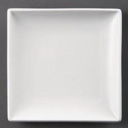 Plato cuadrado 241 mm Color Blanco