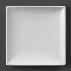 Plato cuadrado 140 mm Color Blanco