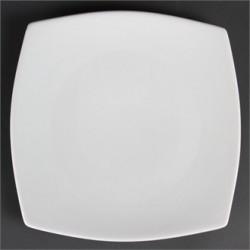 Plato cuadrado redondeado 273 mm Color Blanco