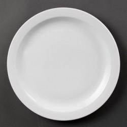 Plato llano de borde estrecho 279 mm Color Blanco