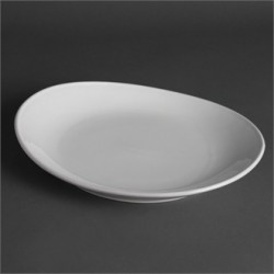 Plato de bistecs 305 mm Color Blanco