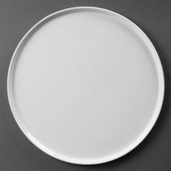 Plato para pizza 330 mm Color  Blanco