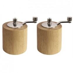 Conjunto de molinillos de bambú